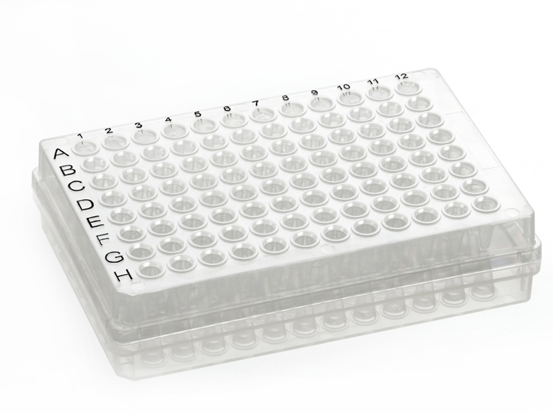 96 Well Skirted PCR Plate