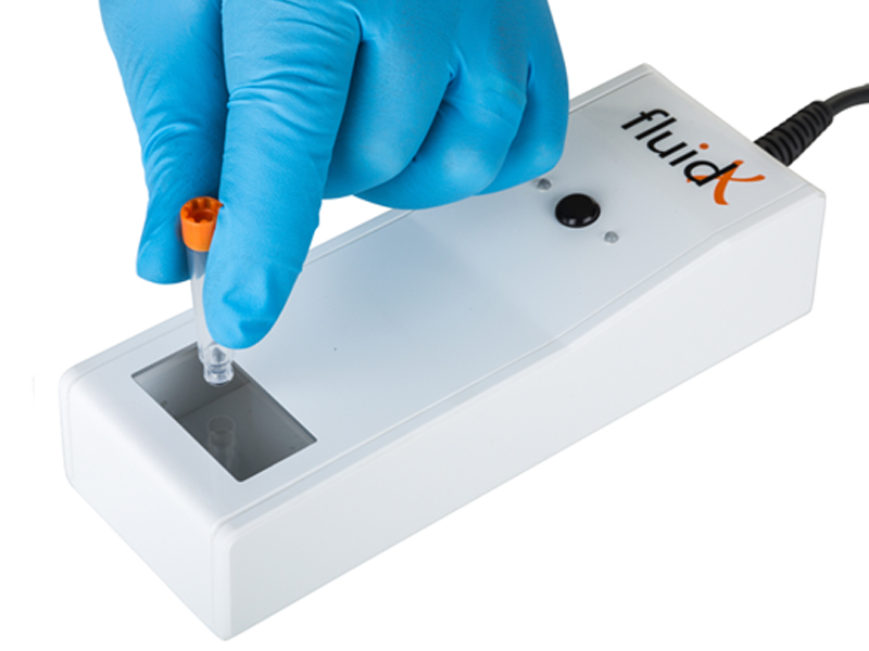 FluidX Scope™ Single Tube Reader